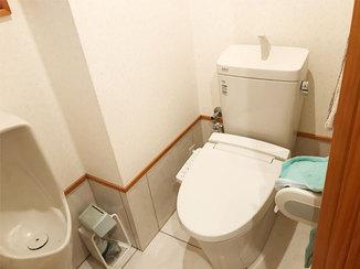 トイレリフォーム 汚れがつきにくく、キレイが長持ちするトイレ