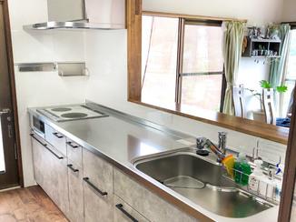 キッチンリフォーム 希望がすべて叶った開放的なキッチン
