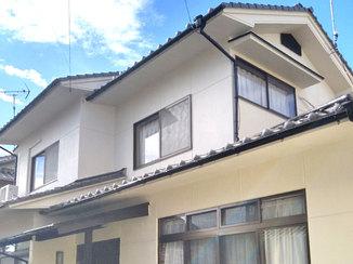 外壁・屋根リフォーム 汚れが付着しにくいプレミアムシリコンの外壁